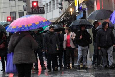 Onemi declara Alerta Temprana Preventiva para la Región Metropolitana por lluvias