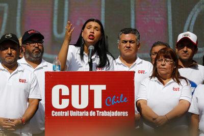 Tribunal electoral anuló elecciones de la CUT donde ganó Bárbara Figueroa