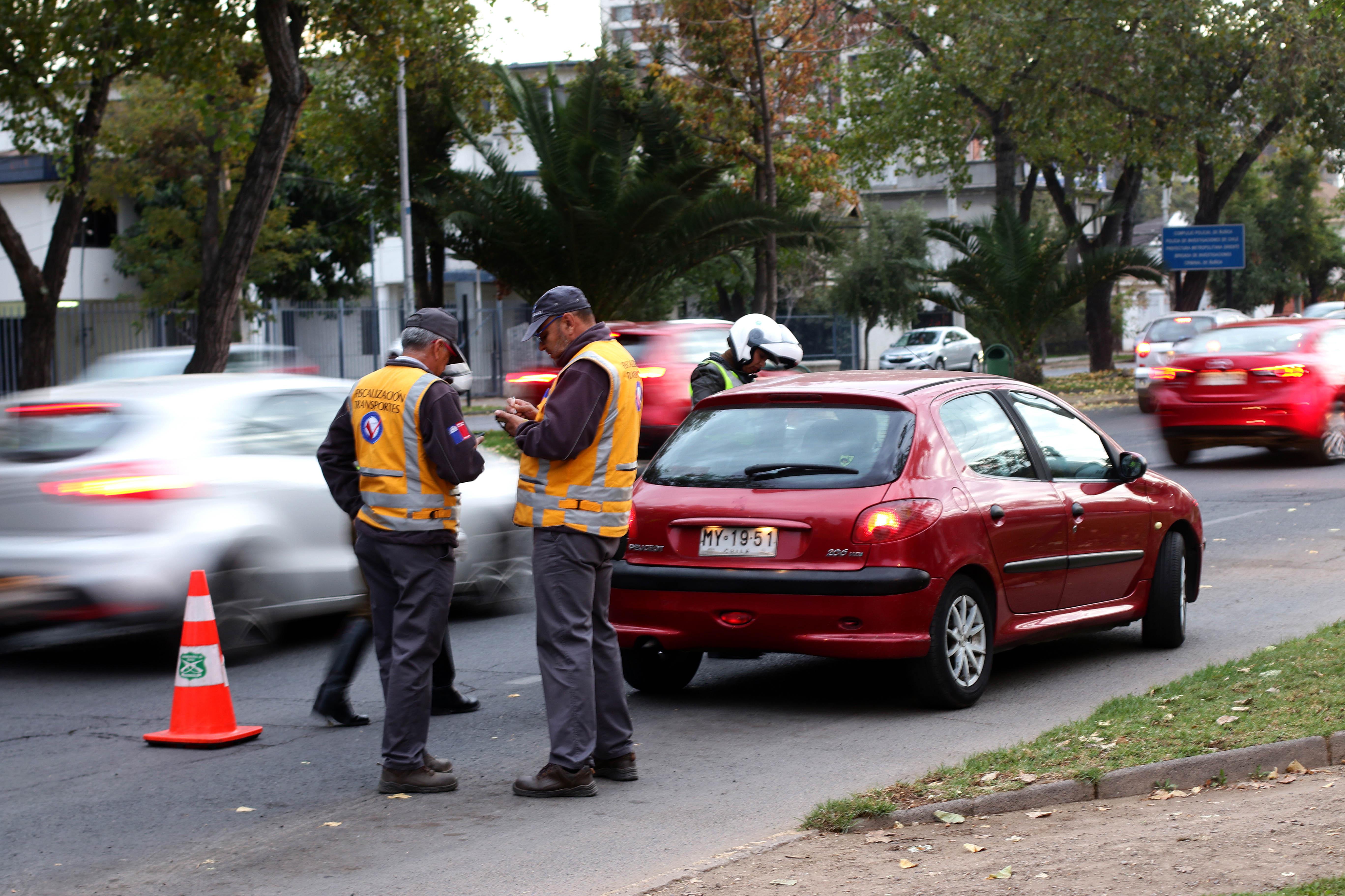 """""""Restricción: 450 cámaras se suman a fiscalización de inspectores de Transportes"""""""