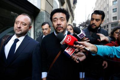 """Fiscal Arias tras declarar por 10 horas: """"No tengo nada que ocultar"""""""