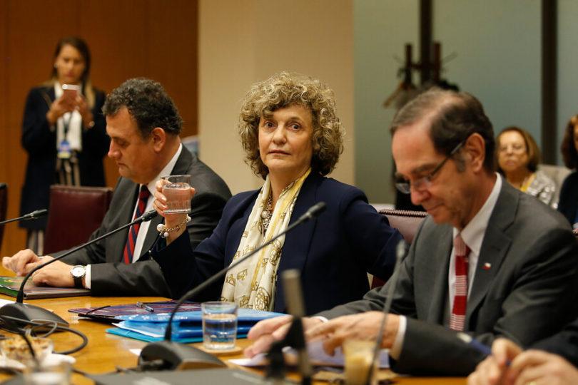 """Dobra Lusic expuso ante los senadores y acusó """"virulencia despiadada"""" por su postulación a la Suprema"""