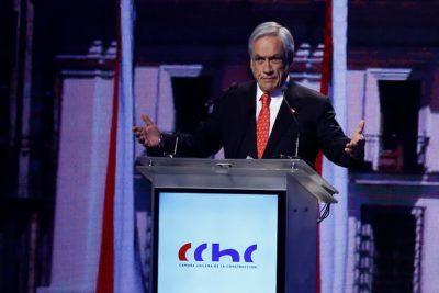 Piñera agradeció el apoyo de ex ministros de Lagos y Bachelet a la reforma laboral