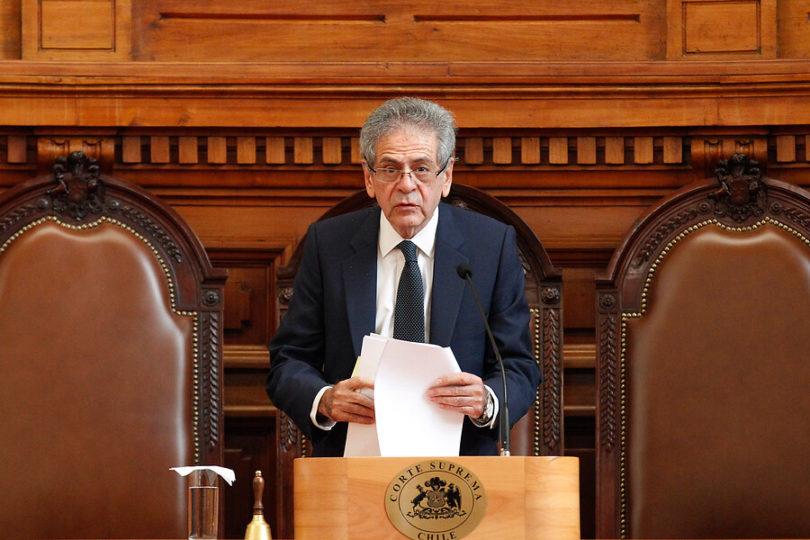 """Presidente de la Corte Suprema y la caída de Lusic: """"Hay un problema por resolver sobre las postulaciones"""""""