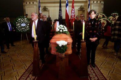 FOTOS | El ex Congreso Nacional es escenario del velatorio de Carlos Altamirano