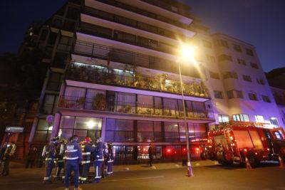Turistas brasileños fueron las víctimas de mortal emanación en departamento de Santiago Centro