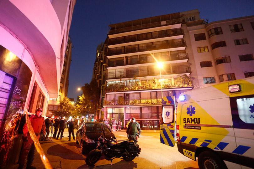 Emanación de gas deja seis fallecidos en Santiago Centro