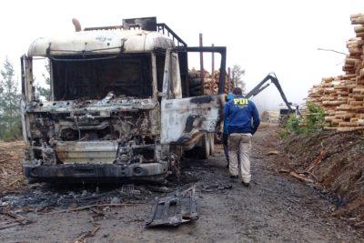 Ataques en el Biobío: cortarán árboles junto a vías y cerrarán caminos en desuso