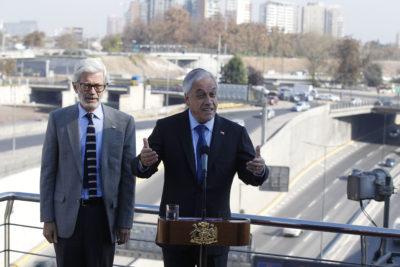 Piñera anuncia inversión de $7 billones en rutas y acuerdo con concesionarias