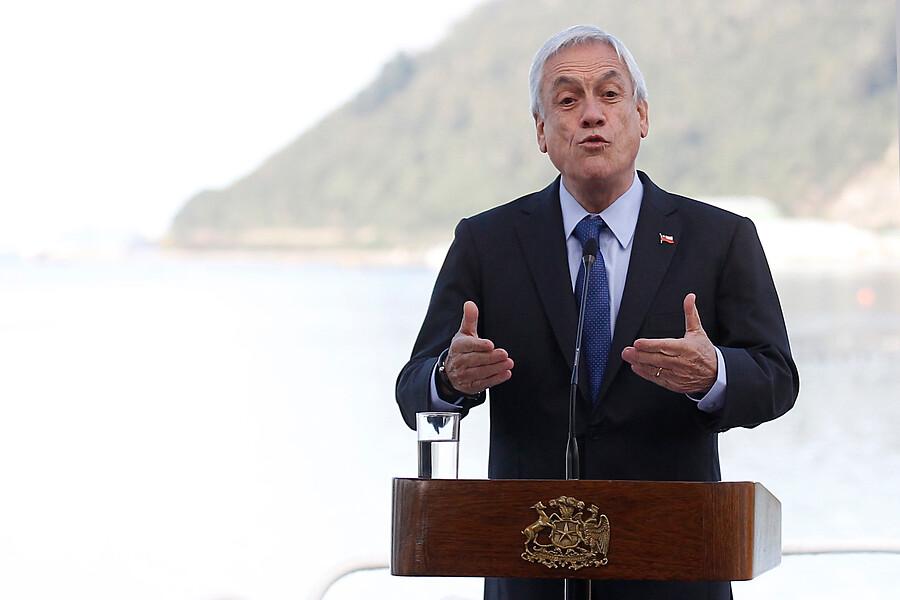 """""""Piñera en el Biobío:"""