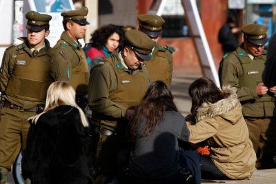 Las comunas con más controles de identidad en 2018: Santiago, Pudahuel y Puente Alto