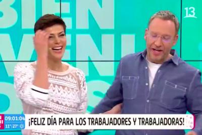 """""""¡Hay gente care raja!"""": Lavín, Sergio Lagos, Tonka y Martín Cárcamo se burlan en pantalla de Dávalos"""