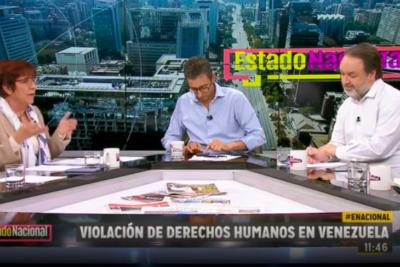 VIDEO | Miles de comentarios: los minutos más ácidos de Carmen Hertz discutiendo con Mauricio Rojas y Gonzalo Müller en TVN