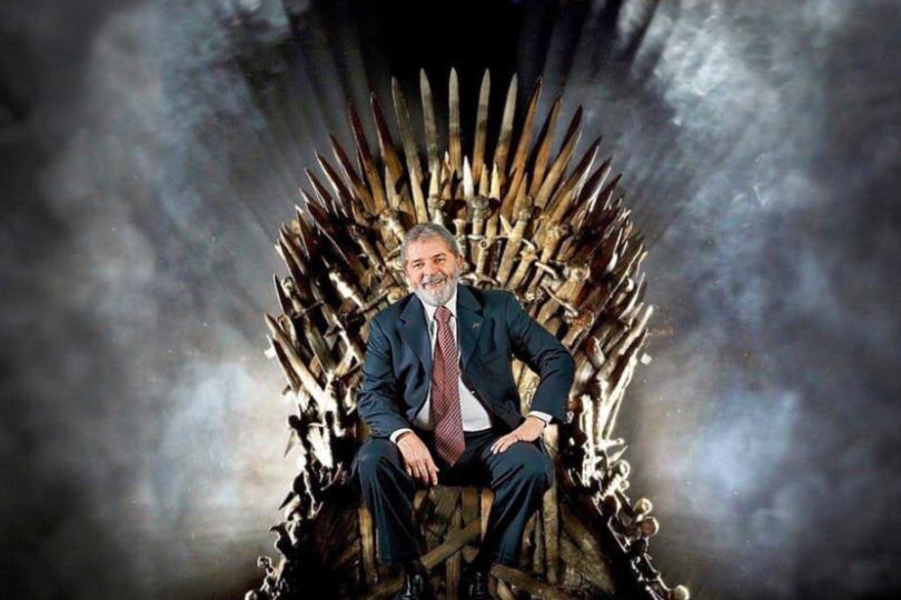 Lula da Silva se quiso colar en el final de Game of Thrones y recibió todo tipo de respuestas