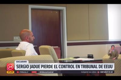 """VIDEO   """"¡Cómo va a ser tan fácil mentirle a la corte!"""": reportaje de TVN revela el descontrol de Sergio Jadue en tribunal de Estados Unidos"""