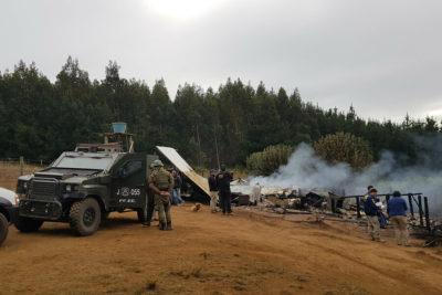 Desde RN apuran ley corta antiterrorista por ataques en La Araucanía
