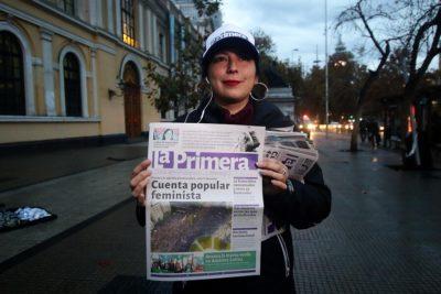 Coordinadora Feminista 8M llama a esperar la cuenta pública con cacerolazo en Plaza Italia