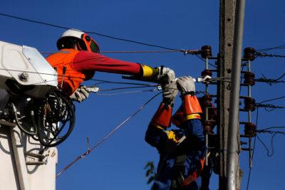 Enel informa que 9.531 clientes seguían sin servicio hasta el mediodía de hoy