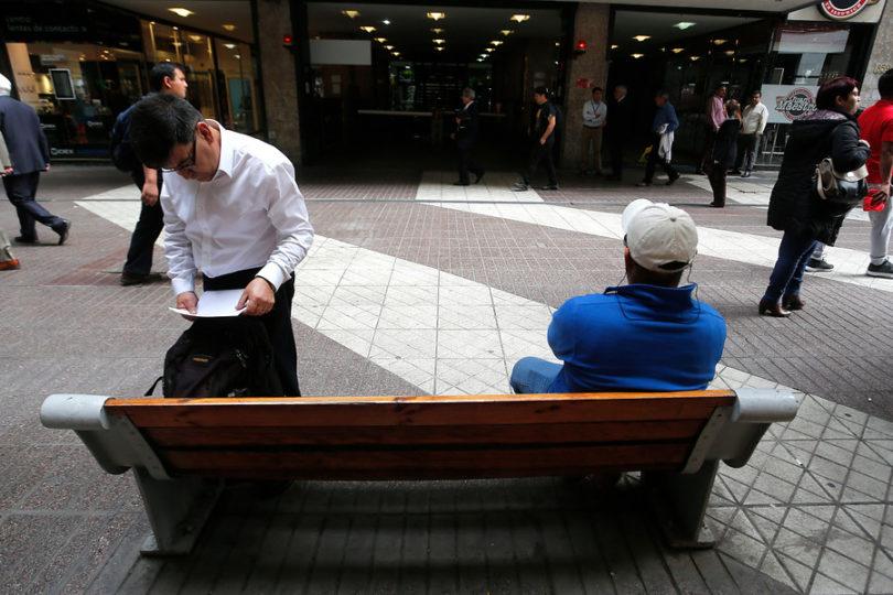 El desempleo en Chile sube a 6,9% en en el último trimestre