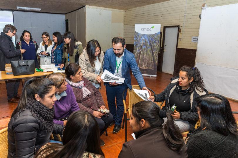 Diseño participativo: proyecto de barrio ecosustentable de Villa Mininco apuesta por el involucramiento de los vecinos
