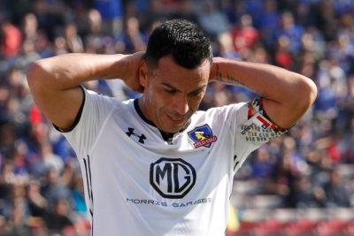 Lesión podría tener a Esteban Paredes más de dos meses fuera de las canchas