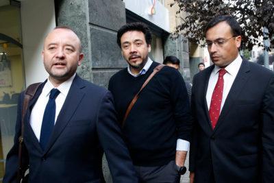 """Fiscal Arias se manifestó """"tranquilo"""" al llegar a declarar como imputado"""