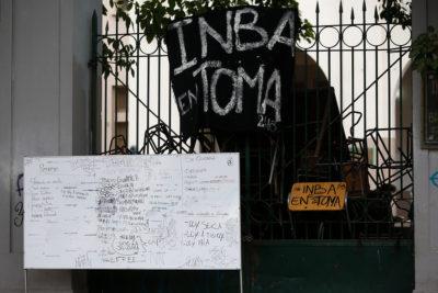 Desalojan el INBA y entregan nombres de alumnos involucrados a la fiscalía