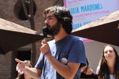 """Ex candidato FEUC y falsa denuncia de abuso sexual: """"Pierden las víctimas reales"""""""