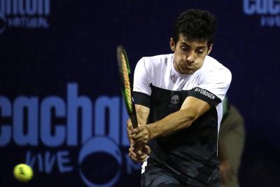 Garin quedó eliminado en dobles de Múnich y ya se enfoca en duelo ante Zverev