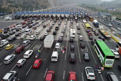 Aumentó número de vehículos controlados en plazas de peaje en primer trimestre