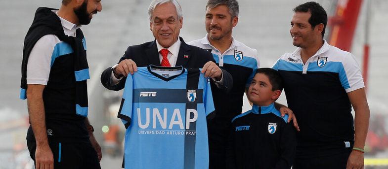 """El palo de Piñera a la """"U"""" y Deportes Iquique por su posición en la tabla"""