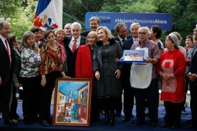Reforma a pensiones: Piñera pide a parlamentarios aprobar idea de legislar