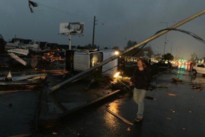 FOTOS+VIDEOS | Inédito tornado se registra en Los Angeles, región del Biobío