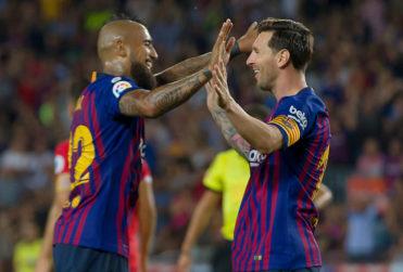 """Messi se rindió ante Vidal: """"Tuvo un año espectacular, con una actitud positiva"""""""