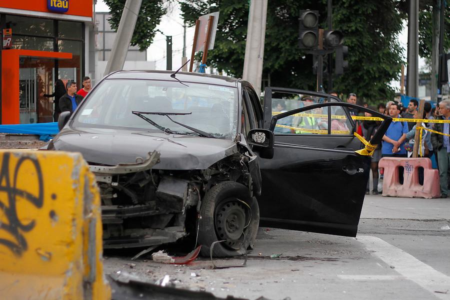 Estas son las cinco esquinas más peligrosas para los peatones en Santiago