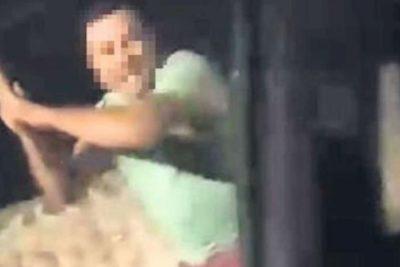 VIDEO | Militar es acusado de golpear con un bate a un conductor: víctima grabó todo