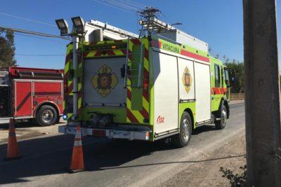 Trece niños fueron afectados con rotura de matriz de gas en San Bernardo