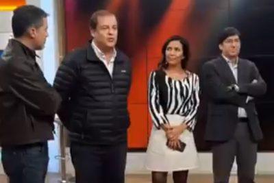 VIDEO | El momento en que Francisco Vidal se toma la pantalla del Bienvenidos para recordar que la Esmeralda era centro de tortura
