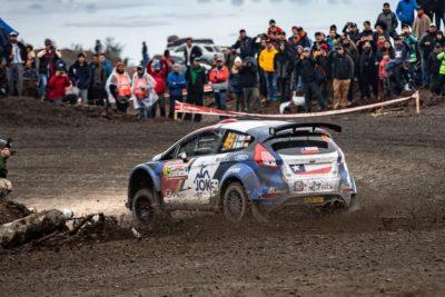 Pedro Heller volcó en la primera etapa del Mundial de Rally en Concepción