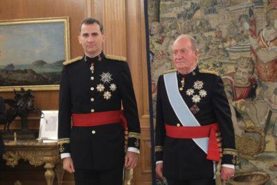 Rey emérito de España Juan Carlos de Borbón anunció su retiro oficial de la vida pública