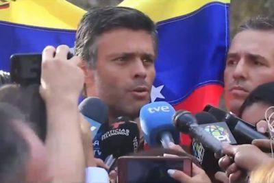 """España limitará las actividades de Leopoldo López: """"La embajada no se convertirá en centro de activismo político"""""""
