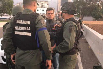 """Leopoldo López por orden de detención: """"No le tengo miedo a la dictadura"""""""