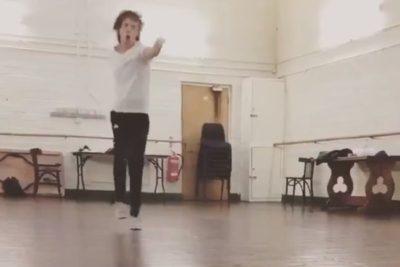 VIDEO | Regresó con todo: Mick Jagger apareció bailando a un mes de ser operado del corazón