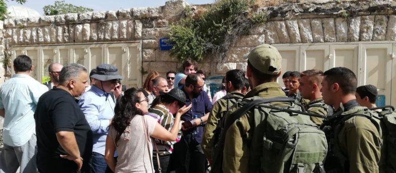 """""""Me acordé de la dictadura"""": Beatriz Sánchez relata tenso momento con soldados israelíes en Palestina"""