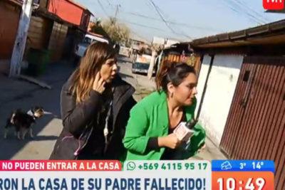 Equipo del matinal Muy Buenos Días fue agredido en pleno despacho en vivo