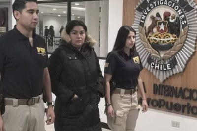 PDI detuvo a suboficial peruana que pretendía escapar a Chile con más de $70 millones