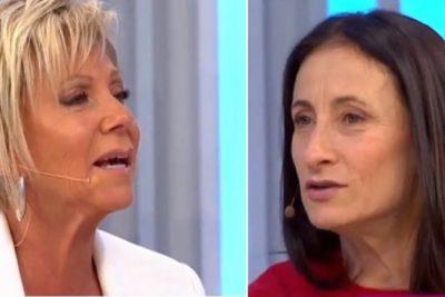 ¿Dieron vuelta la página?: Raquel Argandoña y Amparo Noguera se encontraron en TV tras polémica por Patricia Maldonado