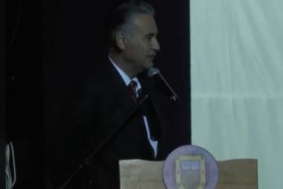 Alcalde de San Vicente se disculpó por sus dichos machistas durante la cuenta pública