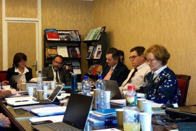 Canciller se reunió con equipo chileno en Ginebra para analizar la dúplica boliviana por la demanda del Silala