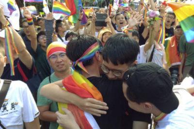 Taiwán es el primer país de Asia que legaliza el matrimonio homosexual