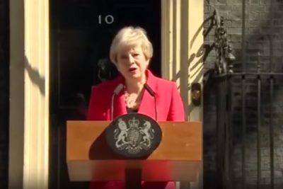VIDEO | Theresa May anunció su dimisión como primera ministra del Reino Unido para el 7 de junio